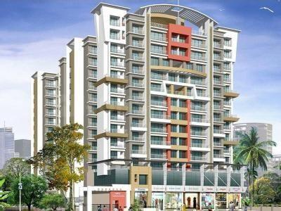 Gallery Cover Image of 1230 Sq.ft 2 BHK Apartment for rent in Kamothe for 16000