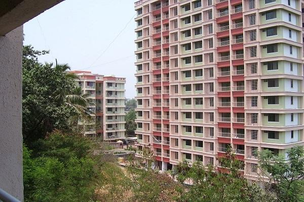 Building Image of 710 Sq.ft 1 BHK Apartment for rent in Thane West for 20000