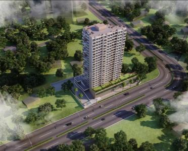 Gallery Cover Image of 745 Sq.ft 1 BHK Apartment for buy in Gopal Krishna Square, Kalyan East for 4600000