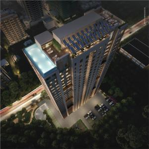 Gallery Cover Image of 928 Sq.ft 2 BHK Apartment for buy in Rustomjee Urbania Aurelia, Thane West for 10800000