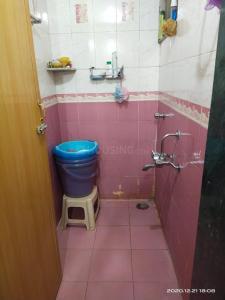 लखानी लखानीस पाल्म व्यू, सीवुड्स  में 7200000  खरीदें  के लिए 7200000 Sq.ft 1 BHK अपार्टमेंट के बाथरूम  की तस्वीर