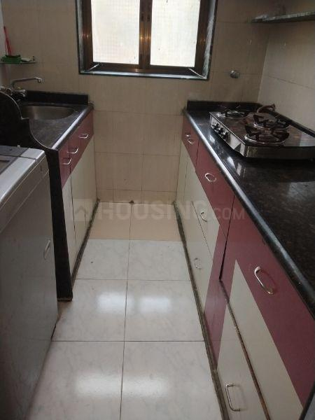 Kitchen Image of 600 Sq.ft 1 BHK Apartment for rent in Bhandup West for 24000