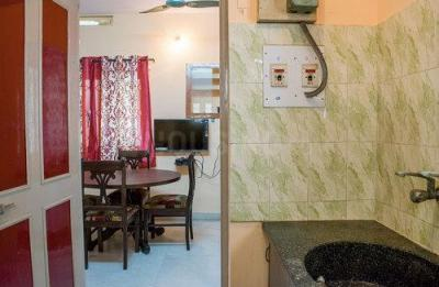 Kitchen Image of Geetha Nest in Banaswadi