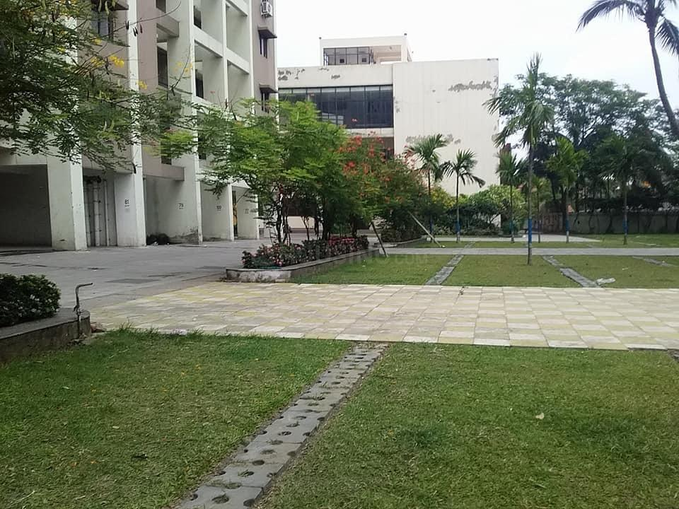 Garden Area Image of 1338 Sq.ft 3 BHK Apartment for rent in Maheshtala for 10000