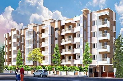 Gallery Cover Image of 1360 Sq.ft 3 BHK Apartment for buy in Aryav Green Fields, Krishnarajapura for 5032000