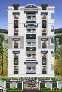 Gallery Cover Image of 1395 Sq.ft 3 BHK Apartment for rent in Toli Chowki for 14500