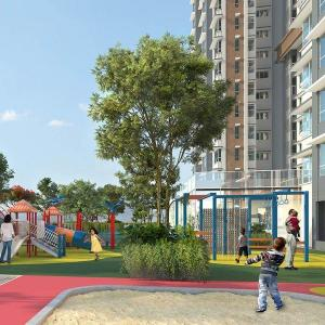 Gallery Cover Image of 1101 Sq.ft 3 BHK Apartment for buy in Wadhwa TW Gardens, Kandivali East for 22900000