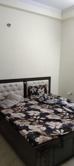 शाहदरा में आतीं पीजी के बेडरूम की तस्वीर