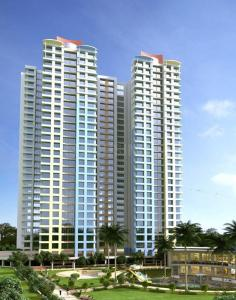 Gallery Cover Image of 573 Sq.ft 2 BHK Apartment for buy in Neelkanth Palms, Thane West for 12500000