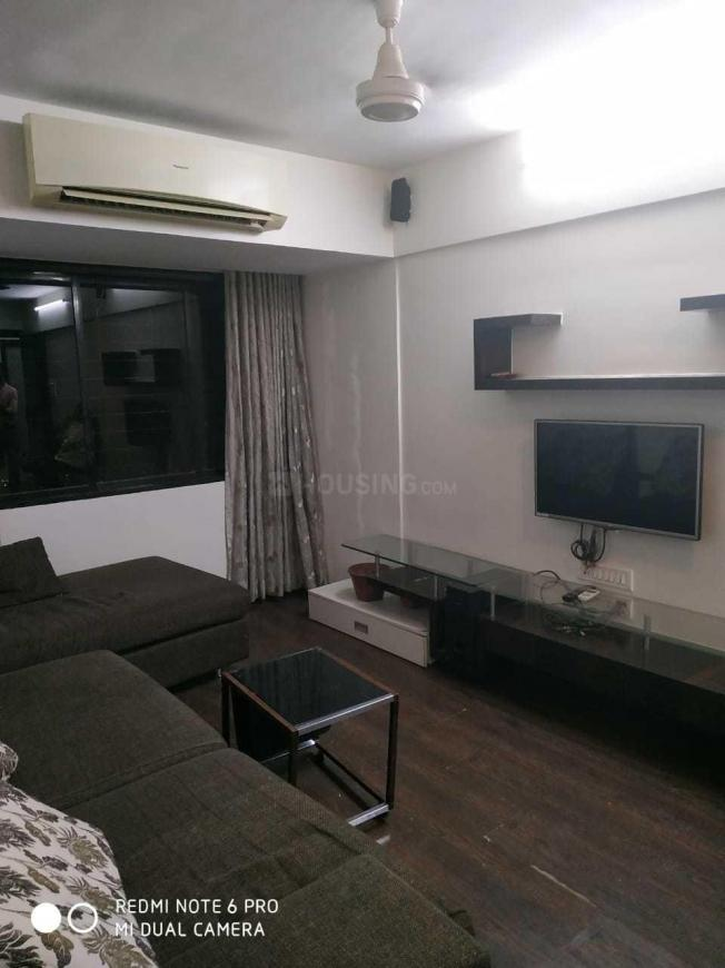 Living Room Image of 650 Sq.ft 1 BHK Apartment for rent in Andheri East for 45000