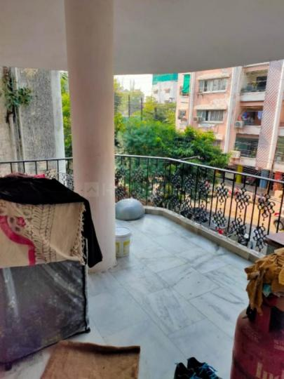 Balcony Image of 1110 Sq.ft 3 BHK Apartment for buy in Chandramani Apartment, Navlakha for 5000000
