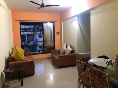 Gallery Cover Image of 725 Sq.ft 1 BHK Apartment for rent in Mahalaxmi Ashish, Thakurli for 9000
