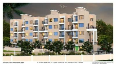 Gallery Cover Image of 385 Sq.ft 1 RK Independent Floor for buy in New Panvel East for 1400000