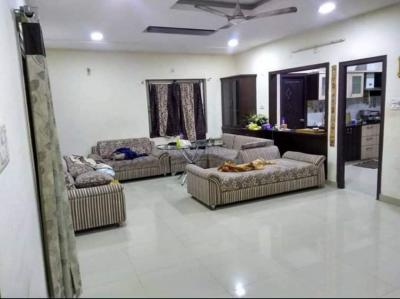 Gallery Cover Image of 1500 Sq.ft 3 BHK Independent Floor for rent in Sanath Nagar for 22000