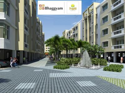 Gallery Cover Image of 574 Sq.ft 1 BHK Apartment for buy in Bhaggyam Pragathi, Karapakkam for 3509042