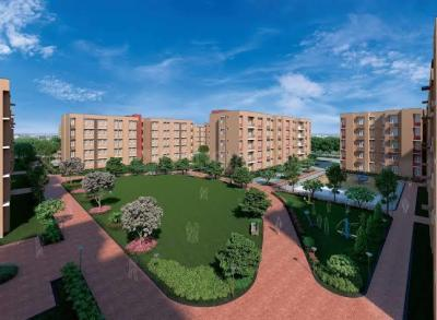 Gallery Cover Image of 709 Sq.ft 2 BHK Apartment for buy in Happinest Palghar 1, Nandore for 2940000