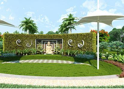 Living Room Image of 2055 Sq.ft 4 BHK Apartment for buy in Vrindavan Yojna for 9500000
