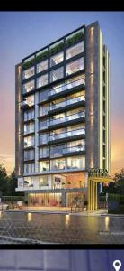 Gallery Cover Image of 1400 Sq.ft 3 BHK Apartment for buy in Kripa Allure, Bandra West for 68000000