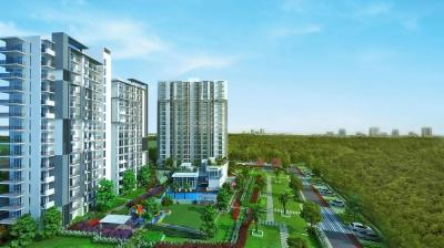 Gallery Cover Image of 1334 Sq.ft 3 BHK Apartment for buy in Godrej Oasis, Sector 88A for 14300000