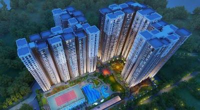 Gallery Cover Image of 1400 Sq.ft 3 BHK Apartment for buy in Cybercity Marina Skies, Borabanda for 9380000