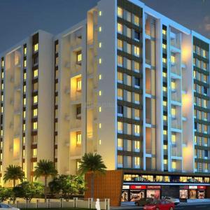 Gallery Cover Image of 559 Sq.ft 1 BHK Apartment for buy in Wakad for 4650000
