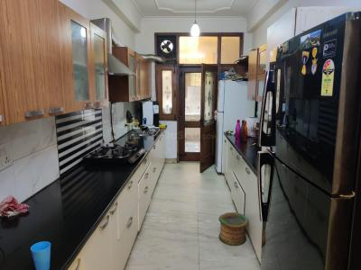 Kitchen Image of PG For Boys On Sharing Basis in Sector 50