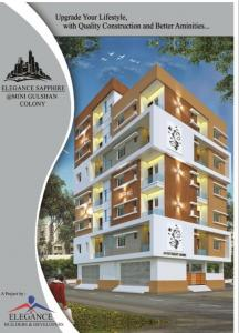 Gallery Cover Image of 1200 Sq.ft 3 BHK Apartment for buy in Toli Chowki for 3844000