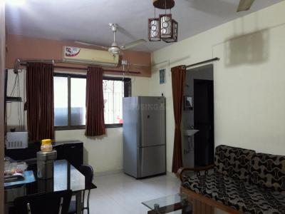 Gallery Cover Image of 650 Sq.ft 1 BHK Apartment for rent in Airoli for 25000