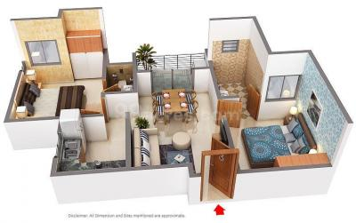 Gallery Cover Image of 1035 Sq.ft 2 BHK Independent House for buy in Villankurichi for 4621000
