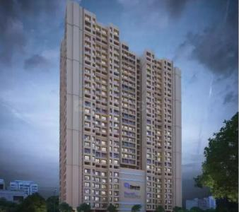 Gallery Cover Image of 480 Sq.ft 1 BHK Apartment for buy in Raunak Unnati Woods Phase 7, Kasarvadavali, Thane West for 5999611