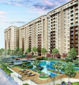 Gallery Cover Image of 700 Sq.ft 2 BHK Apartment for buy in Provident Park Square Phase 2, Mallasandra for 3800000