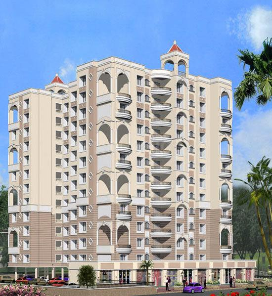 Building Image of 1000 Sq.ft 1 BHK Apartment for rent in Kalyan West for 16000