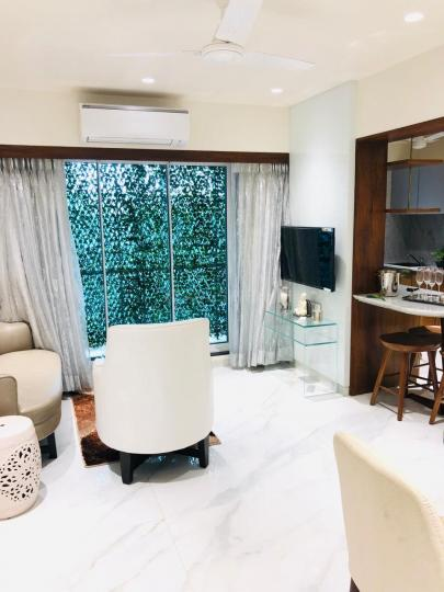 Living Room Image of 1137 Sq.ft 2 BHK Apartment for buy in J.K IRIS, Mira Road East for 8300000