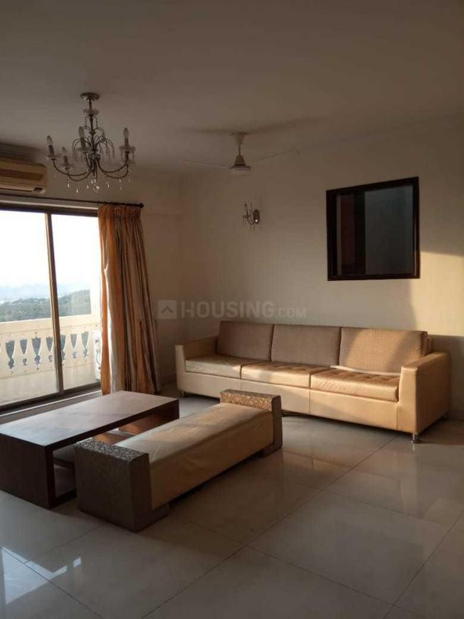 Living Room Image of 1120 Sq.ft 2 BHK Apartment for rent in Nerul for 42000