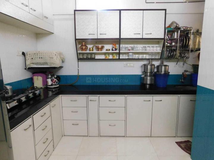 खारघर में गर्ल्स पीजी में किचन की तस्वीर