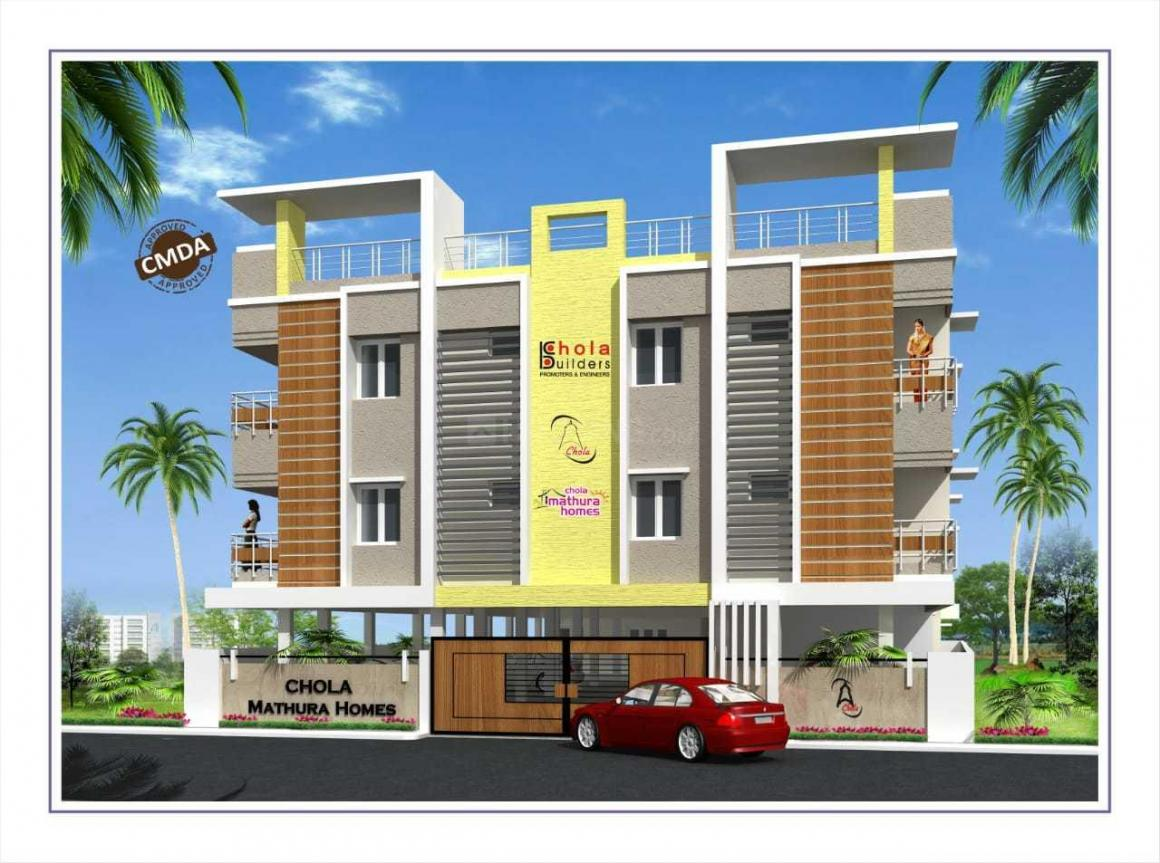 Building Image of 1150 Sq.ft 2 BHK Apartment for rent in Medavakkam for 16000