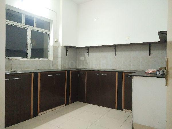 Kitchen Image of 1520 Sq.ft 3 BHK Apartment for rent in Space Club Town Greens, Belghoria for 21000