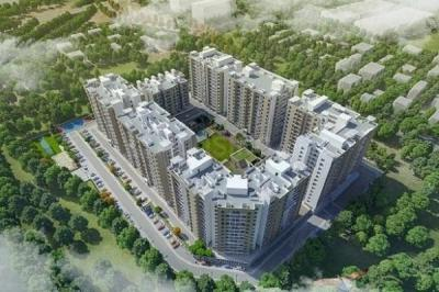 Gallery Cover Image of 958 Sq.ft 2 BHK Apartment for buy in Pebbles Urbania, Bavdhan for 6000000