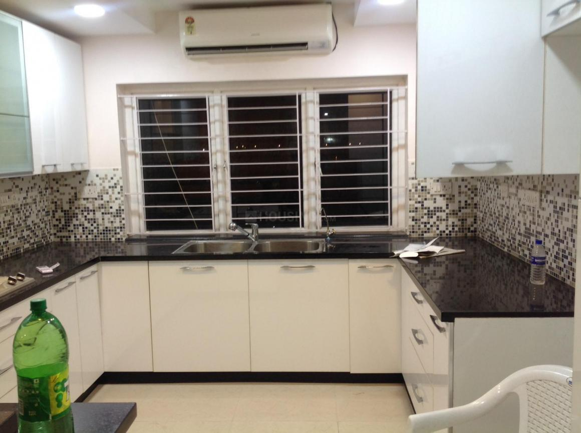Kitchen Image of 1250 Sq.ft 2 BHK Apartment for rent in Porur for 23000