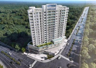 Gallery Cover Image of 610 Sq.ft 1 BHK Apartment for buy in JVM Spaces Veda, Kasarvadavali, Thane West for 6200000