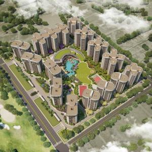 Gallery Cover Image of 1827 Sq.ft 3 BHK Apartment for buy in Rishita Mulberry Heights Phase 2, Golf City for 9827500