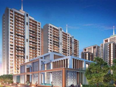 Gallery Cover Image of 906 Sq.ft 2 BHK Apartment for buy in Rishita Manhattan, Arjunganj for 5218125
