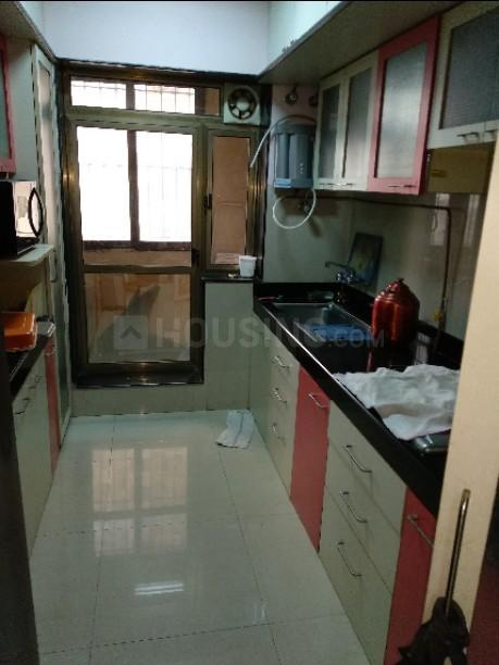 Kitchen Image of 750 Sq.ft 1 BHK Apartment for rent in Chembur for 30000