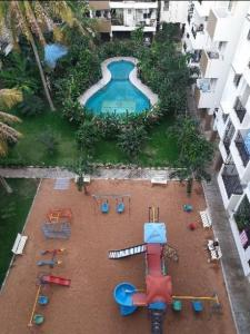Gallery Cover Image of 550 Sq.ft 1 BHK Apartment for rent in Mahaveer Galaxy, Uttarahalli Hobli for 8900