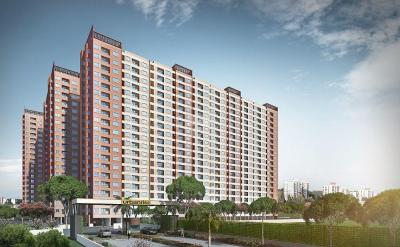 Gallery Cover Image of 510 Sq.ft 1 BHK Apartment for buy in Siruseri for 2269500