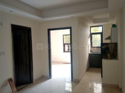 Gallery Cover Image of 550 Sq.ft 1 BHK Independent Floor for rent in Chhattarpur for 7500