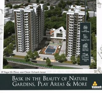 Gallery Cover Image of 1455 Sq.ft 3 BHK Apartment for buy in Valmark Orchard Square, Kalena Agrahara for 9500000