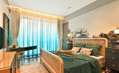 Gallery Cover Image of 2000 Sq.ft 3 BHK Apartment for buy in Rustomjee Seasons, Bandra East for 67000000