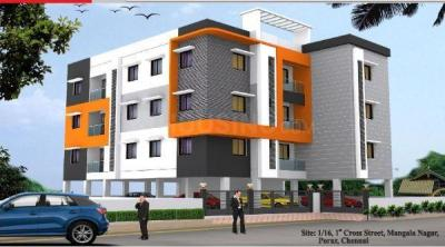 Gallery Cover Image of 879 Sq.ft 2 BHK Apartment for buy in Madhanandapuram for 6153000