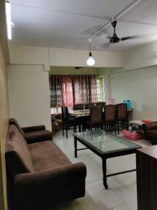 Gallery Cover Image of 1500 Sq.ft 3 BHK Apartment for rent in Aanand Sagar, Vashi for 45000